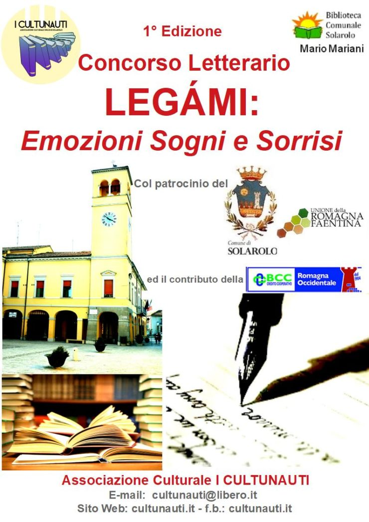 concorso letterario comuni bassa romagna