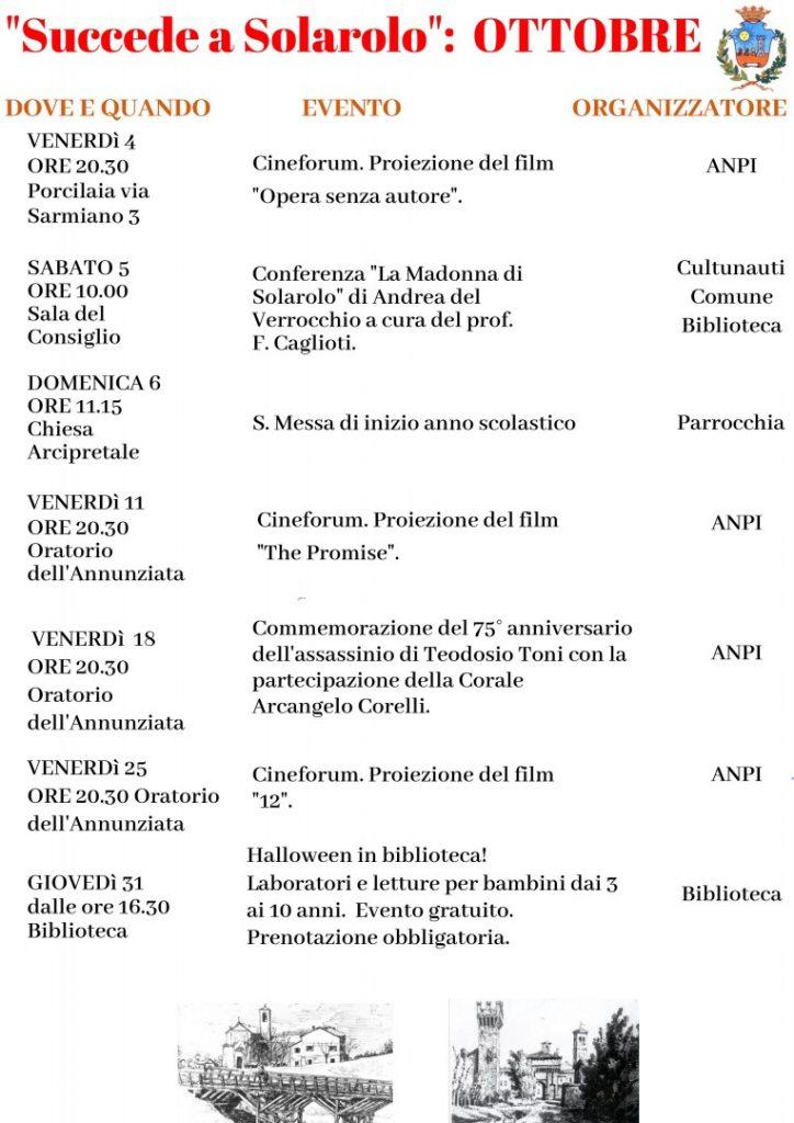 eventi a Solarolo